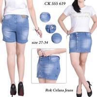 Jual Rok celana jeans CK 555 619 (Size 31-34)
