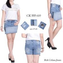 Rok celana jeans  CK 555 610 ( Size 27-30)