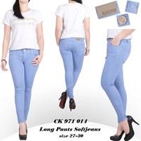 Celana Long Pants Softjeans Ck 971 014 ( Size 27-300