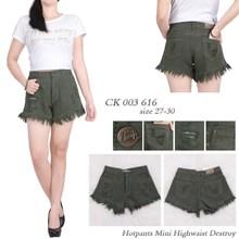Hotpants mii highwaist jeans CK  003 616 ( Size  2