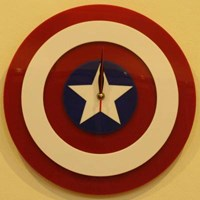 Sell Jam Dinding Captain America