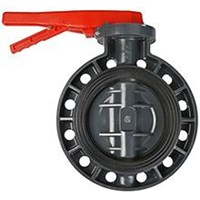 Jual pvc butterfly valve