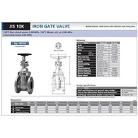 Sell Gate valve kitz jis 10 k