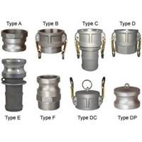 Jual Camlock coupling type D