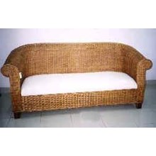 Sofa 3 Seater Rattan