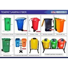 Tempat Sampah Fiber Dan Plastik ( SULO )
