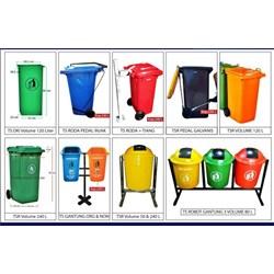 Tempat Sampah Fiber Dan Plastik