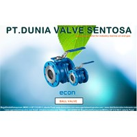 Jual ECON BALL VALVES