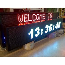 RUNNING TEXT LED DISPLAY
