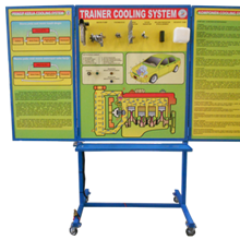 Alat Peraga pelatih Sistem Pendingin Mesin (sistem pendingin)