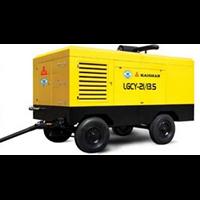 Jual Diesel Powered Portable Screw Air Compressors