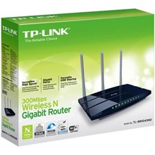 Router Wireless TP-LINK TL-WR1043ND Ultimate  N Gigabit komputer Bintaro