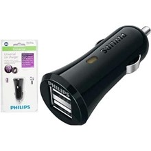 PHILIPS UNIVERSAL DUAL USB CAR CHARGER 2.1 A 5W