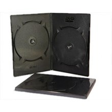 Casing DVD Hitam - GT Pro DVD Case  Double 9mm
