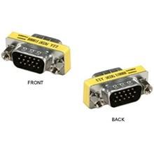 Konektor Mini Gender VGA  Male to male (cowok cowo