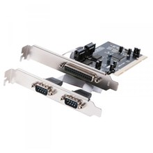 PCI  io Card  2 x SERIAL + 1 x PARALLEL port high