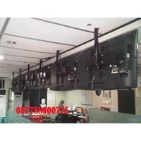 Jual Bracket tv  Ceiling Plafon  Tipe Lokal bisa pesan customize  panjang tiang 2-3 meter