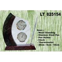 Jual LT_ 852154 Metal Desk Clock - JAM Meja Corporate Merchandise