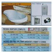 Bathtub Long BELANO (Paket Whirlpool)