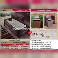 Sell Package Melody BATHTUB type DELTA