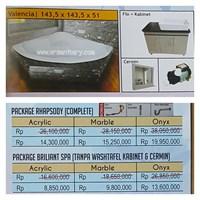 Sell Bathtub corner VALENCIA (paket whirlpool)