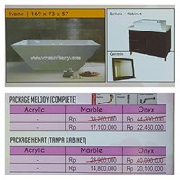 Sell Bathtub standing IVONE (paket Hemat)