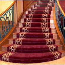 SPORT CLUB SRB HANDTUFED RUGS CARPET STAIRCASE