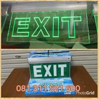 Jual Lampu Exit  LED Model Gantung