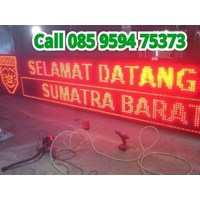 Jual Running Text