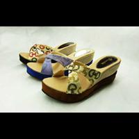 Cross Vuitton Wedges Sandals Okada