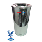 Standing Astray - Trash Cans Stainless Steel - Stainless Steel Trash - Trash Tub Stainless Steel