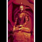 Jual Lukisan Budha Mawar