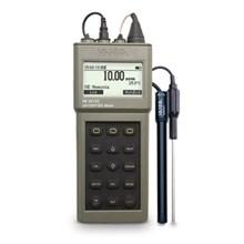 Alat Ukur Kadar Ph Dan ORP Dan ISE Waterproof Portable Meter  HI 98185
