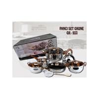 Jual Panci Set Oxone OX 933 Pot Set Oxone OX 933