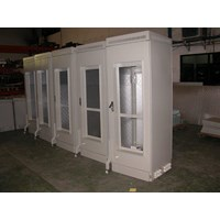 Jual Outdoor Cabinet BTS Rack with AC Cooling system