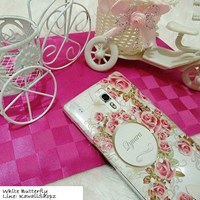 Jual Custom Case White Butterfly