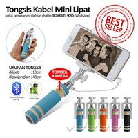 Jual Aksesoris Handphone - Tongsis Mini Kabel Lipat