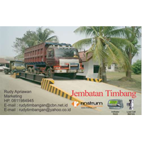 No.1. Rinstrum R420 Kapasitas 20 Ton- Panjang 6 M Dan Lebar 2. 8 M
