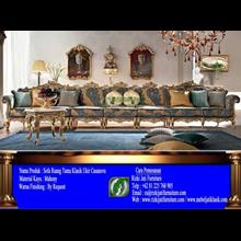 Classic Living Room Sofa Carve Casanova Jepara (Sofa For Living Room Classic Casanova Jepara Carving)