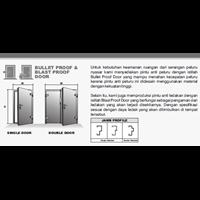 Sell Buller Proof And Blast Proof Door ( Pintu Tahan Peluru Dan Tahan Ledakan)