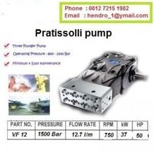 Pompa Pratissolli 800 BAR DAN 1100 BAR VF 14