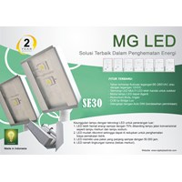Jual Lampu Jalan LED MG Type SE 30 ( 1 x30watt )