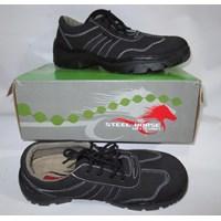 Jual Sepatu safety kulit Steel Horse 9131