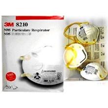 Masker pernapasan 3M N95 tipe 8210