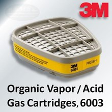 Masker pernapasan 3M  cartridge filter 6003