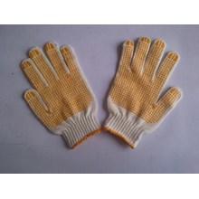 Sarung tangan safety Rajut benang dotting orange