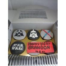 cupcake starwars lucu