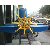 Waterwheel Aerator Top Energy