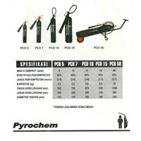 Jual Pyrochem Fire Extinguisher Carbon Dioxide C02 Trolley