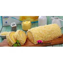 Bolu Rolls Cheese Topping